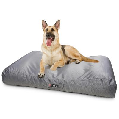Petlife Lounger Gunmetal Grey Large Bed For Dogs 125 x 80cm