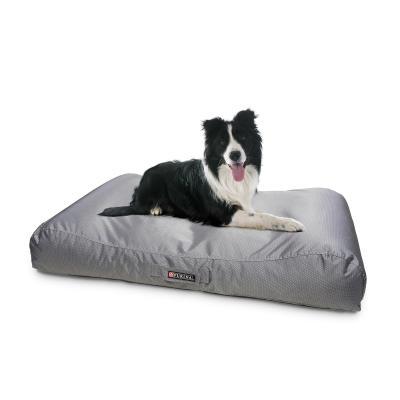Petlife Lounger Gunmetal Grey Medium Bed For Dogs 105 x 70cm