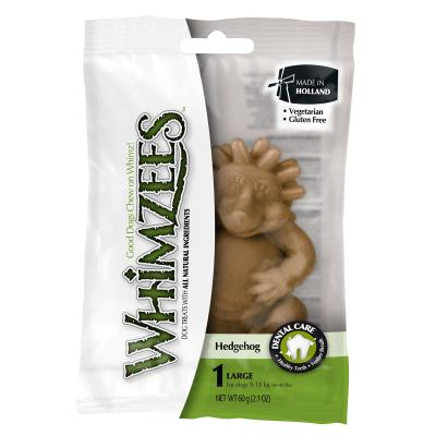 Whimzees Dental Hedgehog Large Treats For Dogs 9-18kg Single 60gm