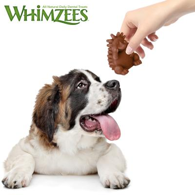 Whimzees Dental Hedgehog XLarge Treat For Dogs +18kg 3 Pack 360gm