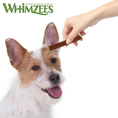Whimzees Dental Stix Small Treat For Dogs 7 -12kg 4 Pack 60gm