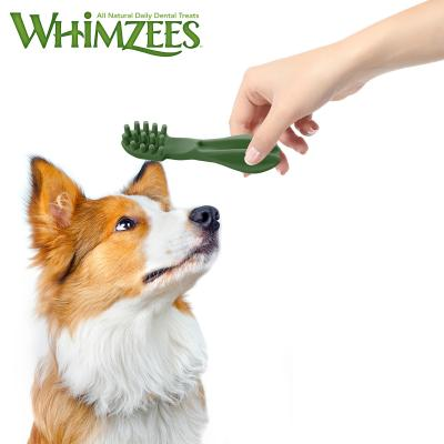 Whimzees Dental Toothbrush Medium Treats For Dogs 12-18kg 12 Pack 360gm