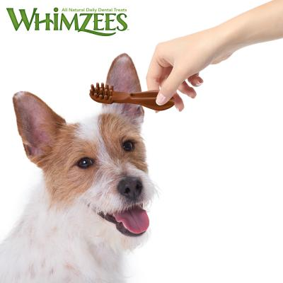 Whimzees Dental Toothbrush Small Treat For Dogs 7 -12kg 24 Pack 360gm