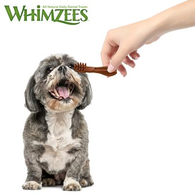 Whimzees Dental Toothbrush XSmall Treats For Dogs 2-7kg 48 Pack 360gm