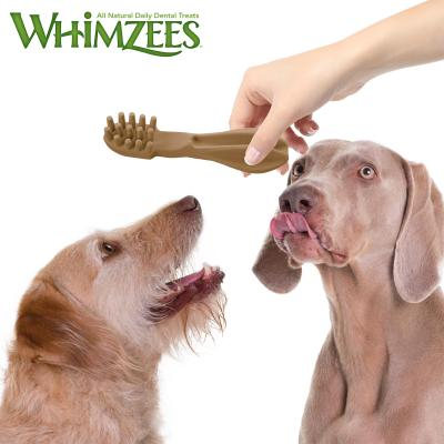 Whimzees Dental Toothbrush Large Treats For Dogs 18-27kg 6 Pack 360gm