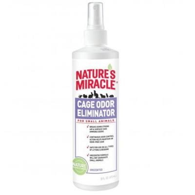 Natures Miracle Cage Odour Eliminator For Small Animals 473ml