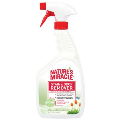 Natures Miracle Stain And Odour Remover Flowering Meadow Scent Spray For Dogs 946ml