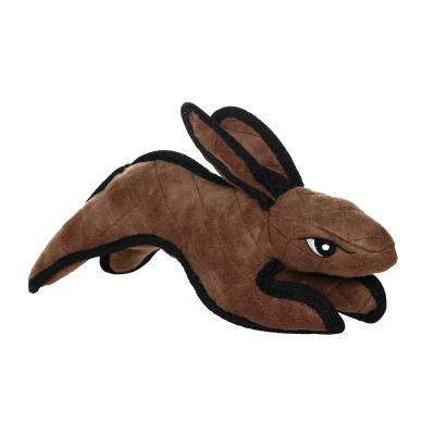 Tuffy Barnyard Rabbit Brown Tough Soft Toy For Dogs