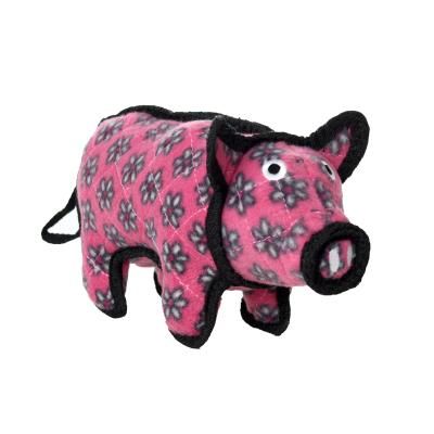 Tuffy Jr Barnyard Pig Tough Soft Toy For Dogs