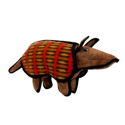 Tuffy Desert Armadillo Tough Soft Toy For Dogs