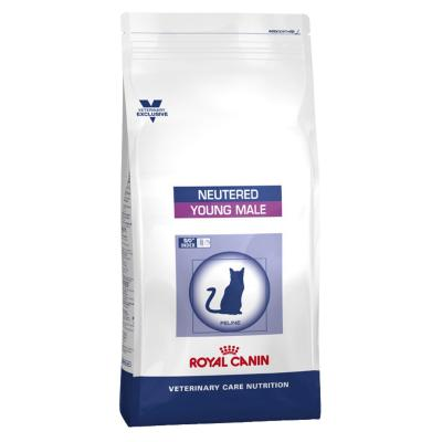Royal Canin Vet Care Feline Neutered Young Male Dry Cat Food 10kg (13393)