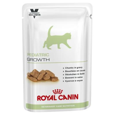 Royal Canin Vet Care Feline Pediatric Growth Pouch For Junior Cat 100gm x 12 (ABB56)