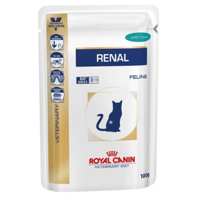 Royal Canin Veterinary Diet Feline Renal Tuna Pouch For Cat 85gm x 12 (AK06V)