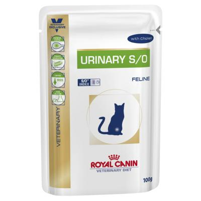 Royal Canin Veterinary Diet Feline S/O Urinary Pouch For Cat 100gm x 12 (NH234)