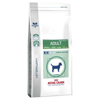 Royal Canin Vet Care Canine Adult Small Dog 4kg Dry (14385)