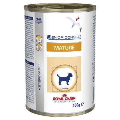 Royal Canin Vet Care Canine Mature Canned Wet Food 400gm x 12 (YC383)