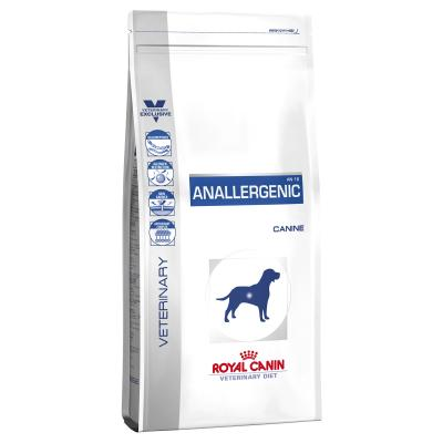 Royal Canin Veterinary Diet Canine Anallergenic For Dog 3kg Dry (17989)