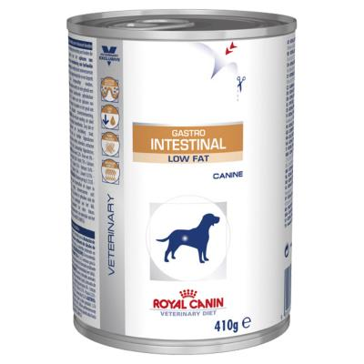 Royal Canin Veterinary Diet Canine Gastro Intestinal Low Fat Canned Wet Dog Food 410gm x 12 (XH029)