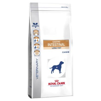 Royal Canin Veterinary Diet Canine Gastro Intestinal Low Fat For Dog 12kg Dry (15347)