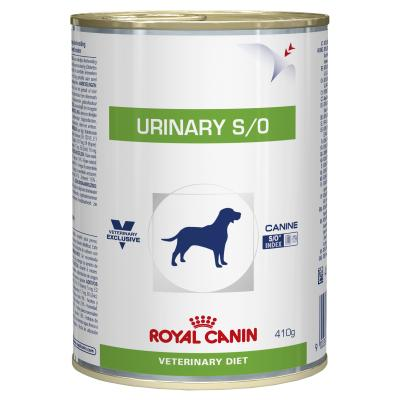 Royal Canin Veterinary Diet Canine S/O Urinary Cans Wet Dog Food 410gm x 12 (BB69A)