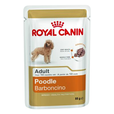 Royal Canin Poodle Adult Loaf Pouches Wet Dog Food 85g x 12