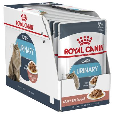 Royal Canin Urinary Care In Gravy Pouches Wet Cat Food 85gm x 12