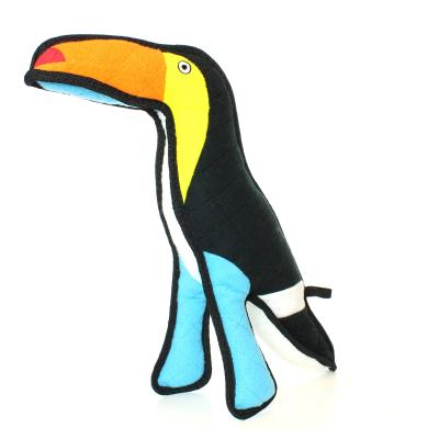 Tuffy Zoo Toucan Tough Soft Toy For Dogs