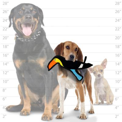 Tuffy Jr Zoo Toucan Tough Soft Toy For Dogs