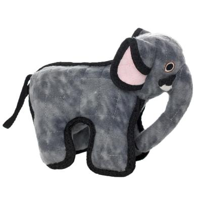 Tuffy Jr Zoo Elephant Tough Soft Toy For Dogs