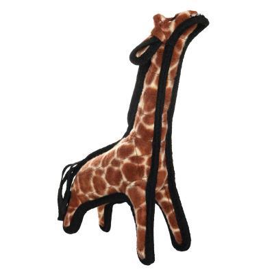 Tuffy Jr Zoo Giraffe Tough Soft Toy For Dogs