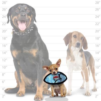 Tuffy Jr Odd Ball Camo Blue Tough Soft Toy For Dogs