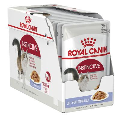 Royal Canin Instinctive In Jelly Adult Pouches Wet Cat Food 85g x 12