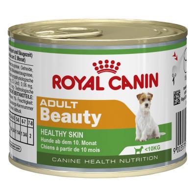 Royal Canin Beauty Mini Adult Canned Wet Dog Food 12 x 195g
