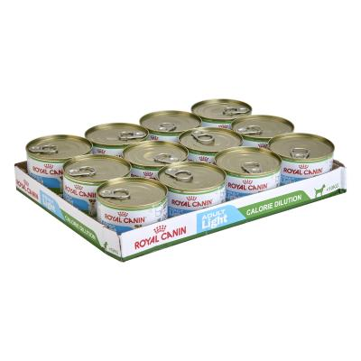 Royal Canin Light Mini Adult Canned Wet Dog Food 12 x 195g