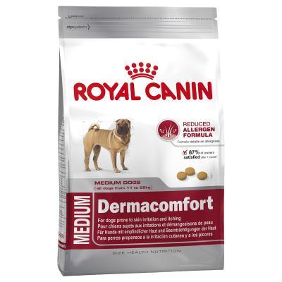 Royal Canin Dermacomfort Medium Adult Dry Dog Food 10kg