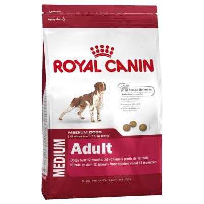 Royal Canin Medium Adult Dry Dog Food 15kg