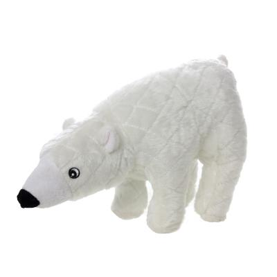 Mighty Arctic Polar Bear Soft Toy For Dogs