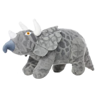 Mighty Dinosaur Triceratops Soft Toy For Dogs