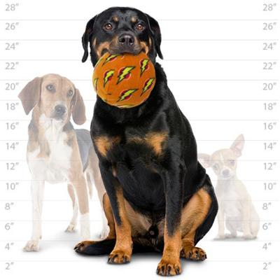 Mighty Ball Large Orange Soft Toy For Dogs