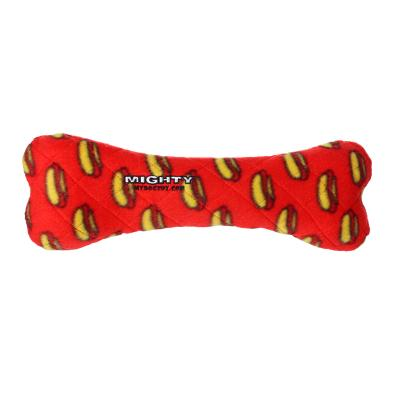 Mighty Bone Red Soft Toy For Dogs
