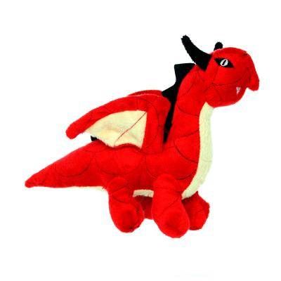 Mighty Jr Dragon Red Soft Toy For Dogs