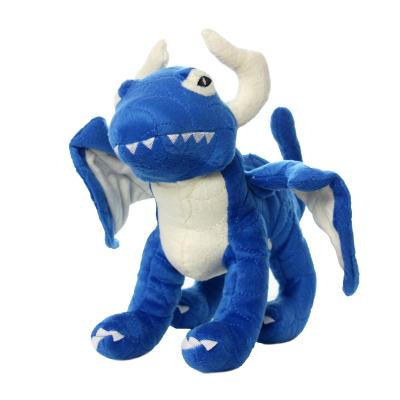 Mighty Dragon Blue Soft Toy For Dogs