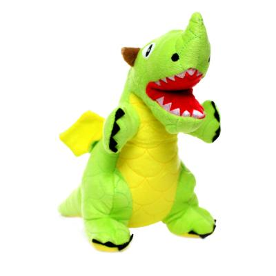 Mighty Dragon Green Soft Toy For Dogs