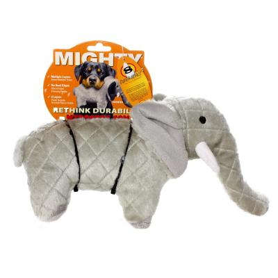 Mighty Safari Elephant Soft Toy For Dogs