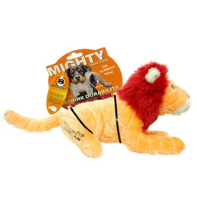 Mighty Safari Lion Soft Toy For Dogs