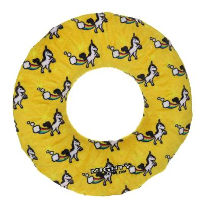 Mighty Ring Unicorn Soft Toy For Dogs