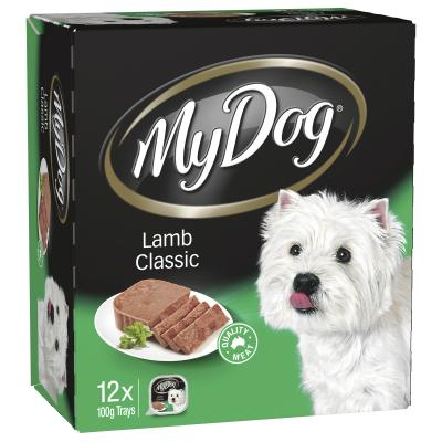 My Dog Lamb Classic Adult Canned Wet Dog Food 100gm x 12