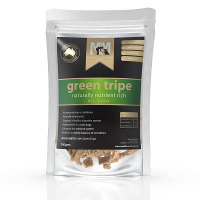 Meals For Mutts MfM Green Tripe Treats For Dogs 200gm