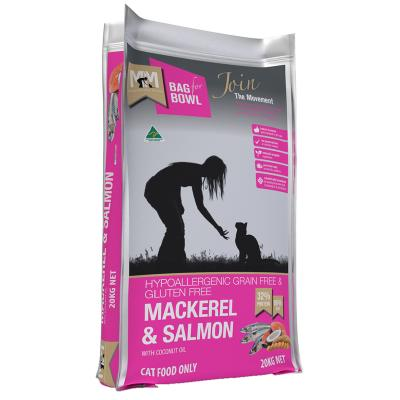 Meals For Meows MfM Grain Free Mackerel And Salmon Adult Dry Cat Food 20kg