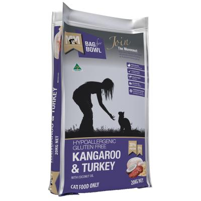 Meals For Meows MfM Kangaroo And Turkey With Brown Rice Adult Dry Cat Food 20kg